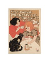 Compagnie Francaise des Chocolats Fine Art Print