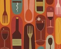 Wine & Dine Fine Art Print
