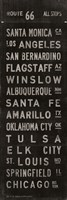 "Route 66 by Luke Stockdale - 12"" x 36"" - $22.49"