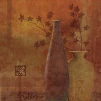"Gold & Spice II by Veronique - 24"" x 24"", FulcrumGallery.com brand"