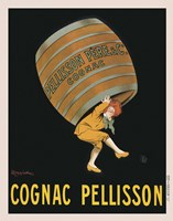 "Cognac Pellisson by Leonetto Cappiello - 13"" x 19"""