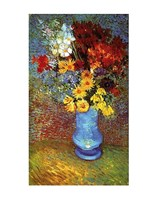"Vase With Anemone by Vincent Van Gogh - 11"" x 14"""