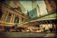 "Chrysler Over Grand Central by Eric Wood - 14"" x 11"""
