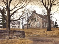 Stone Cottage Fine Art Print
