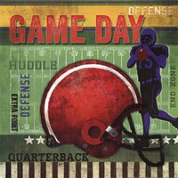 """Game Day by Mollie B. - 12"""" x 12"""""""