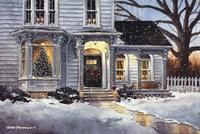 Christmas House Fine Art Print