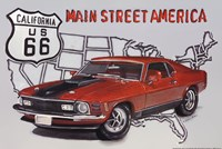 Main Street America Fine Art Print