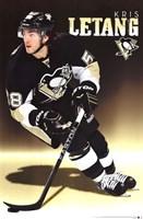 """Penguins - K Letang 13 - 22"""" x 34"""", FulcrumGallery.com brand"""