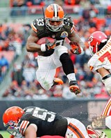 Trent Richardson 2012 Football Action Fine Art Print