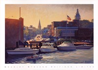 Annapolis Afternoon Framed Print