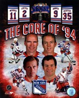 New York Rangers Core Of 1994 Composite Fine Art Print
