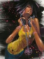 She Grooves Fine Art Print