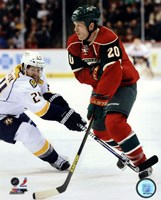 Ryan Suter 2012-13 Action Fine Art Print