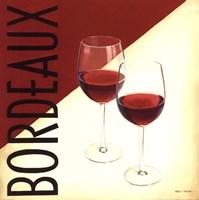 Vin Moderne III Framed Print