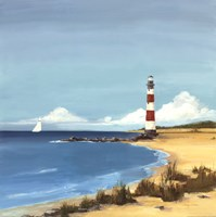 Sandy Point Fine Art Print