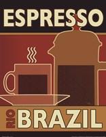 """Deco Coffee I by Pela Studio - 11"""" x 14"""", FulcrumGallery.com brand"""
