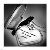 Locket Love Quote by Cheryl Valentino - various sizes