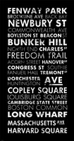 Boston Cities II Fine Art Print