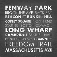 Boston Cities Fine Art Print