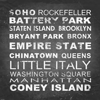 New York Places II Fine Art Print
