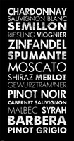Wine List II Fine Art Print