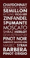 Wine List III Fine Art Print