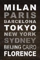 World Cities I by Veruca Salt - various sizes