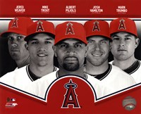 Los Angeles Angels 2013 Team Composite Fine Art Print