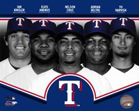 "Texas Rangers 2013 Team Composite - 10"" x 8"" - $12.99"