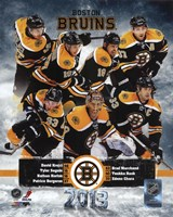 Boston Bruins 2012-13 Team Composite Fine Art Print