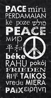 Peace Languages Fine Art Print
