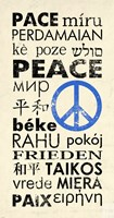 Peace Around the World Fine Art Print