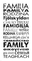 Family Languages by Veruca Salt - various sizes - $28.99