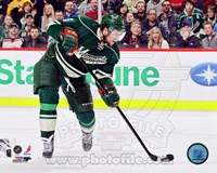 Dany Heatley 2012-13 Action Fine Art Print