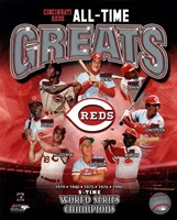 Cincinnati Reds All-Time Greats Fine Art Print