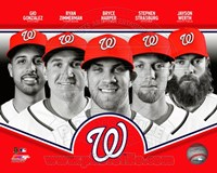 Washington Nationals 2013 Team Composite Fine Art Print