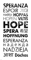 Hope Languages Fine Art Print