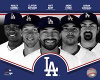 Los Angeles Dodgers 2013 Team Composite Fine Art Print