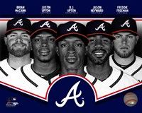 Atlanta Braves 2013 Team Composite Fine Art Print