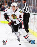 Marian Hossa in action 2012-13 Fine Art Print