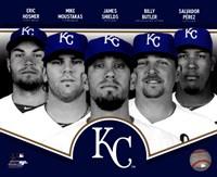 Kansas City Royals 2013 Team Composite Fine Art Print