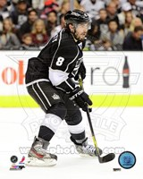 Drew Doughty with the Puck 2012-13 Fine Art Print