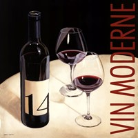 """Vin Moderne V by Marco Fabiano - 35"""" x 35"""""""