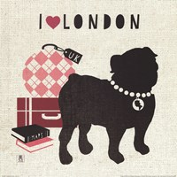 London Pooch Fine Art Print