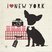 NY Pooch Fine Art Print
