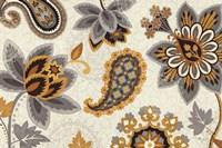 "Decorative Nature I Yellow Gray Cream by Pela Studio - 36"" x 24"""