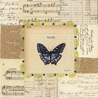 Truth Butterfly Framed Print