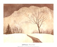 Winter Path Fine Art Print