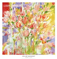"Sherry's Tulips by Kellar Mahaney - 26"" x 27"""