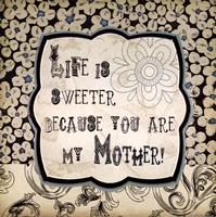 "My Mother by Jo Moulton - 12"" x 12"""